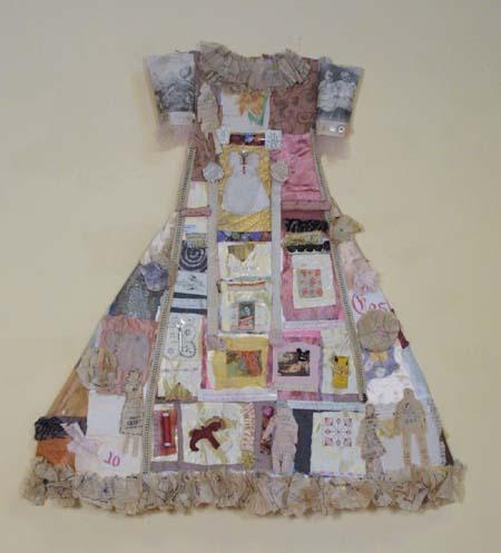 3D Party Assemblage Dress
