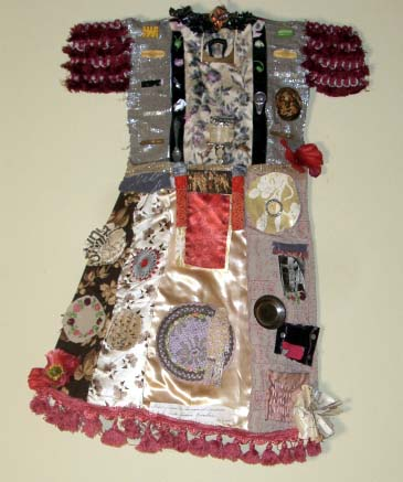 French Party Assemblage Dress