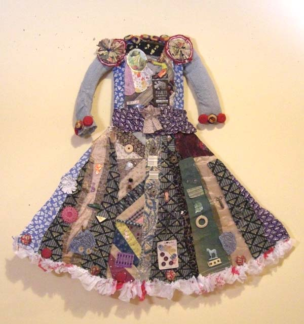 Monkey Party Assemblage Dress